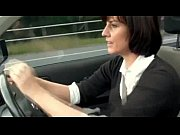horny mature masturbates in her car
