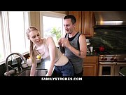 familystrokes - cute sis fucks her way out.