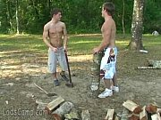 sexy gay boys with ants in the pants fuck outdoors – Gay Porn Video