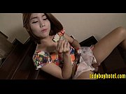 cute teen ladyboy gets asshole smashed good on.