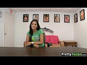 Two facials for teen blonde and latina Ranie Mae_1_2.3