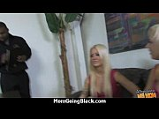 Big tits white cougar fucks a lucky black guy 22