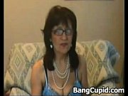 horny mature stripping and teasing