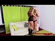 Perfect trannies Kate and Azul enjoy in hot threesome sex