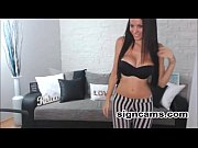 Gorgeous Brunette Teen Webcam Dancing