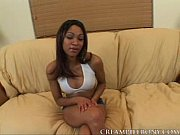 Sidney Loves Creampie Her Black Pussy
