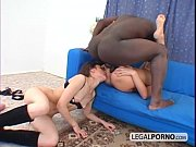 Two sexy young girls fucked in the ass by a black cock RMG-2-01