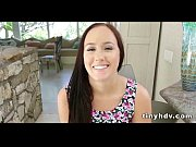 Petite tiny girl drilled Holly Hudson_8 91
