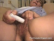 hot and wet hairy milf has real pussy.