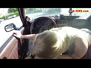 blonde whore sells her car and pounded in.