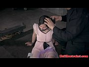 Bondage sub whipped by ma...