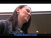 PublicAgent Pretty brunette gets fucked i ...