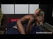 Huge black cock barebacks tight white hole 20