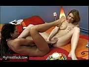 black and white teen lesbians licking and dildoing.