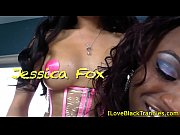 black tranny barebacked by ladyboy