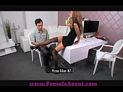 FemaleAgent Asian casting fucks female ag ...