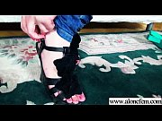 Alone Teen Girl (liona) Put In Her Holes Crazy Things mov-25