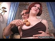 sexy busty ginger slut gets her.