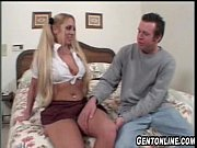 BlondeTeen Loves Older Guy&#039_s Cock