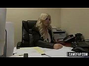 blonde secretary free anal porn video