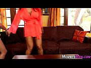 Mature stepmom massage