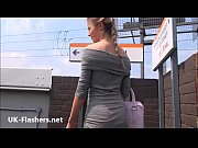 sexy blonde teen sallys public flashing and daring.