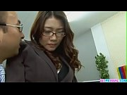 japan boss  fuck his secretaire in her anal