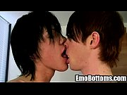 Emo twink Alex Cane gets his hard cock sucked on