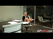 blonde office slut fucked 2 1