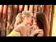 outdoor lesbian sex with two horny.