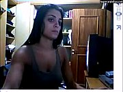 Monique Amin nua na Webcam