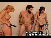 mistress dixie and the strap-on princess give bruce.