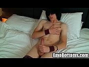 Emo twink Josh Osbourne tugging on his stiff dick1024_3
