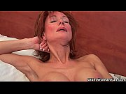 sultry grandma nina probes her old pussy with.