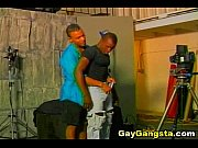 Black Ghetto Gay Lover on Anal Fucking Action