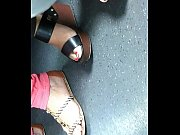 mature feet candid wedges sandals