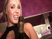 Bad girl gets champagne s...