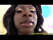 petite ebony tranny barebacking muscular dude