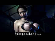 Picture Big boobs slave dildo penetrated and than ho...