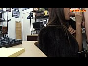 Babe sucks off and fucked by pawn guy