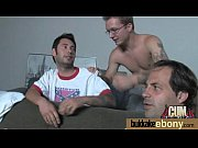 ebony gets group cumshots 25