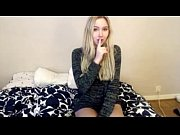 blonde teen on cam! with panties in her.