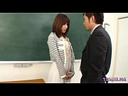 Hot Teacher Fingered Sucking The Principal In The Classroom
