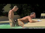 Gay movie Daddy Poolside Prick Loving