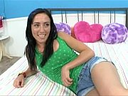 cute teen Kira Kane likes big cock