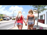 blondes stopping traffic with their asses