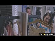 Johny bang brides ass right in the store
