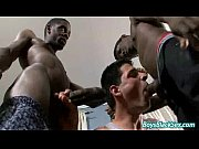 BlacksOnBoys - Nasty Gay Bareback Interracial Porn Movie 19