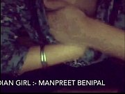 desi punjabi girl manpreet showing herself.