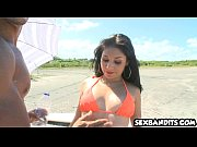 tiny latina teen babe gets fucked on beach 16